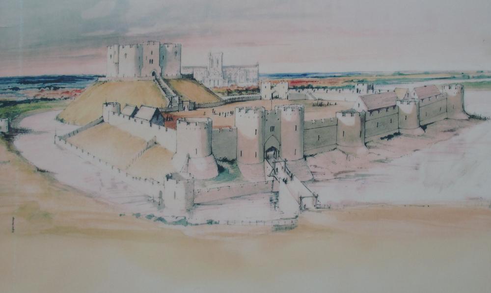 ヨーク城復元図2