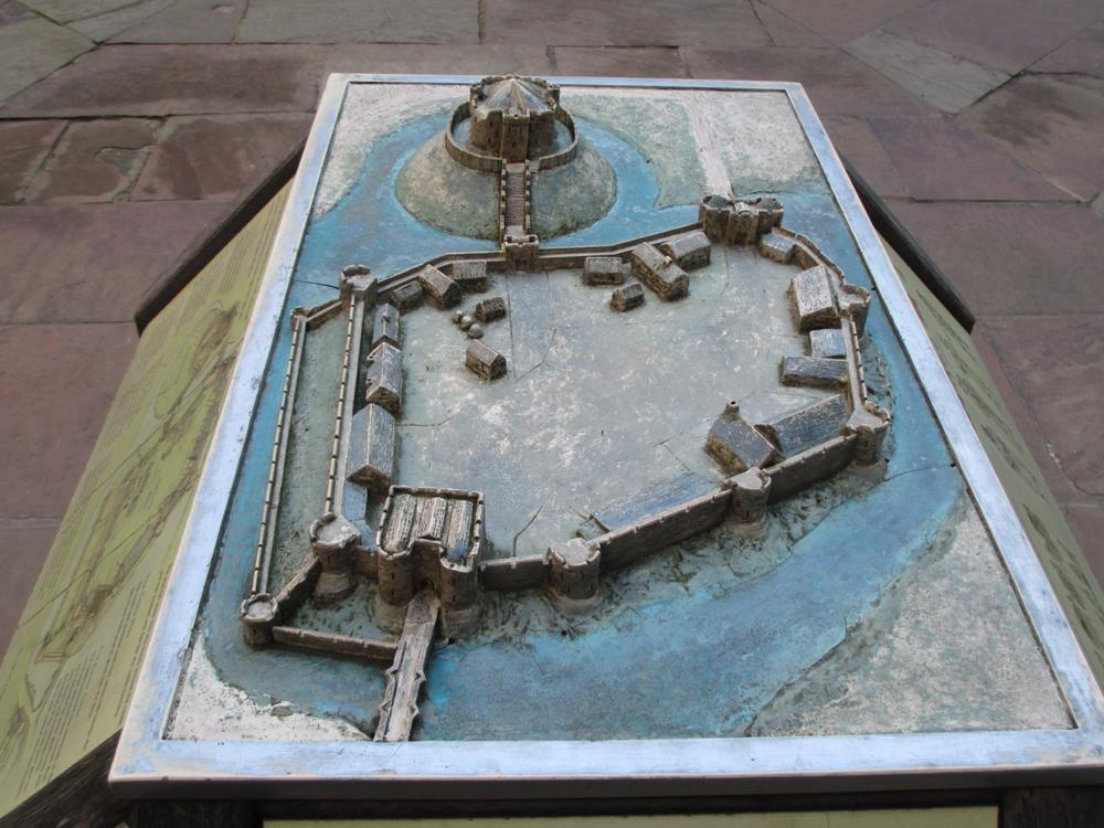 ヨーク城復元模型