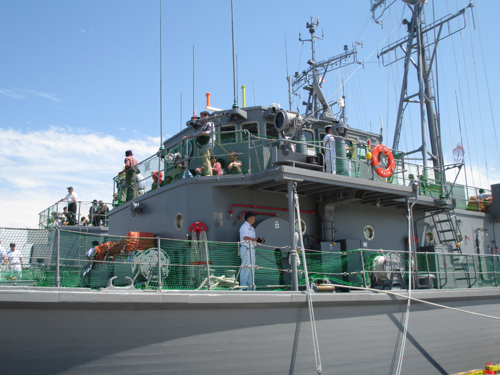 掃海管制艇くめじま 004