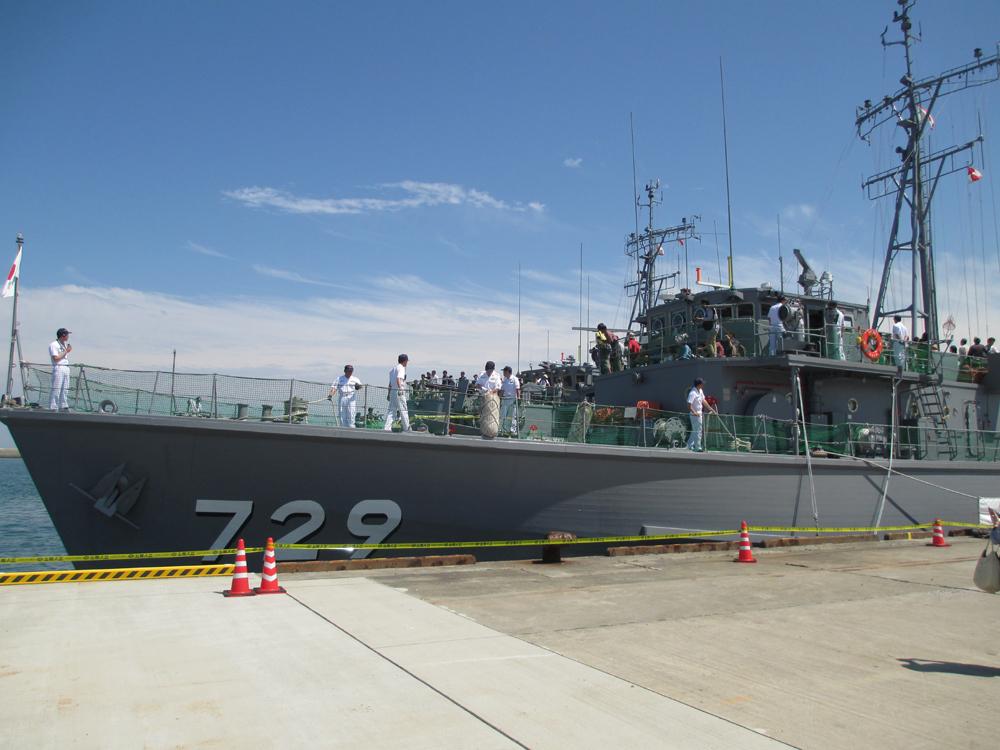 掃海管制艇くめじま 006
