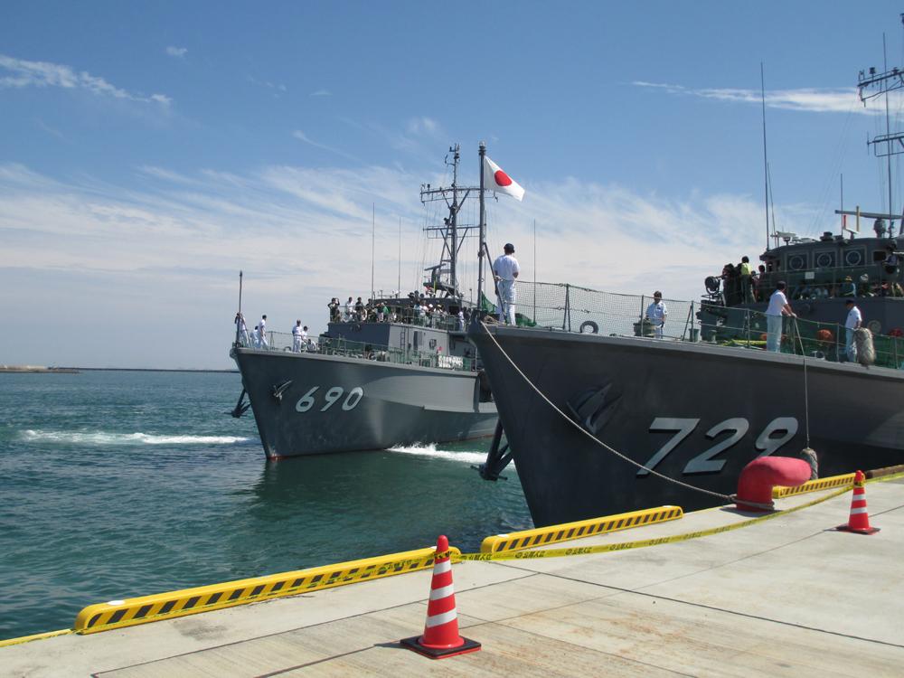 掃海管制艇くめじま 007-01