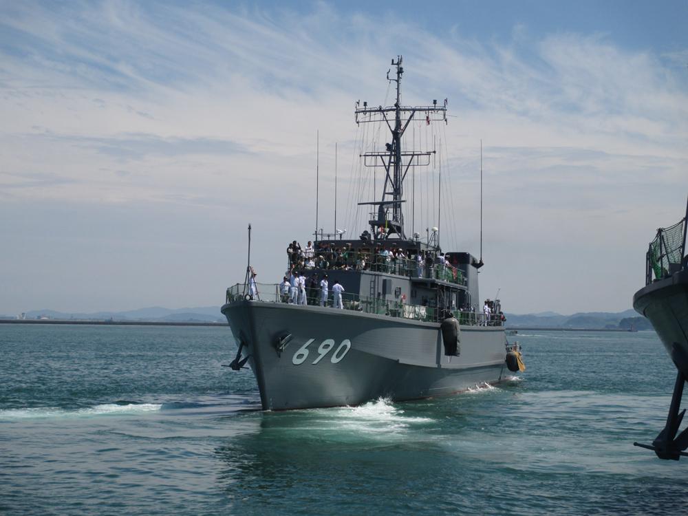 掃海管制艇くめじま 007-02
