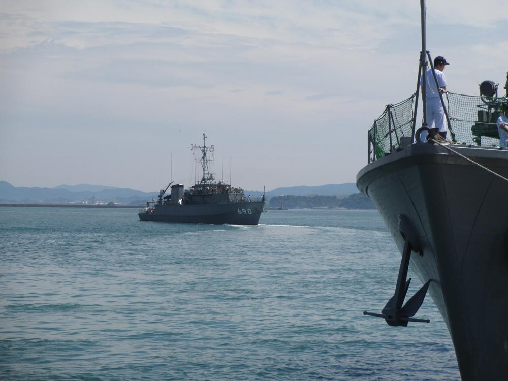 掃海管制艇くめじま 007-05