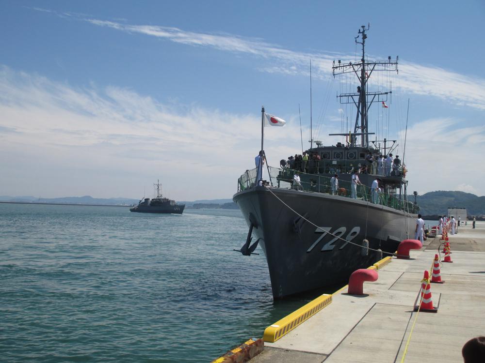 掃海管制艇くめじま 007-06