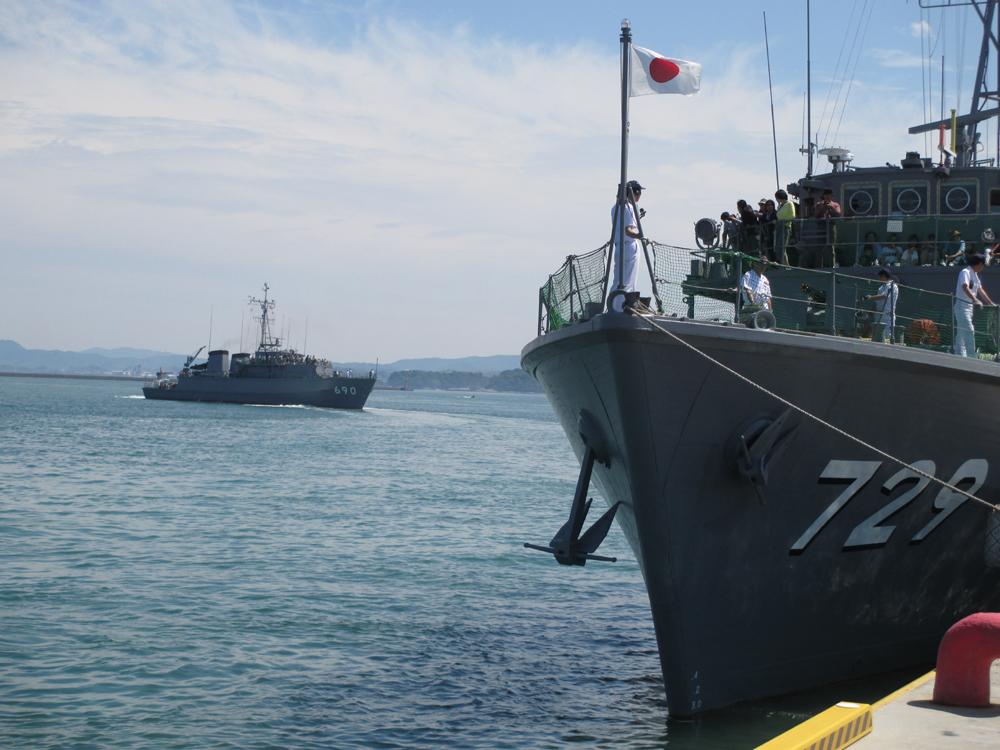 掃海管制艇くめじま 007-07