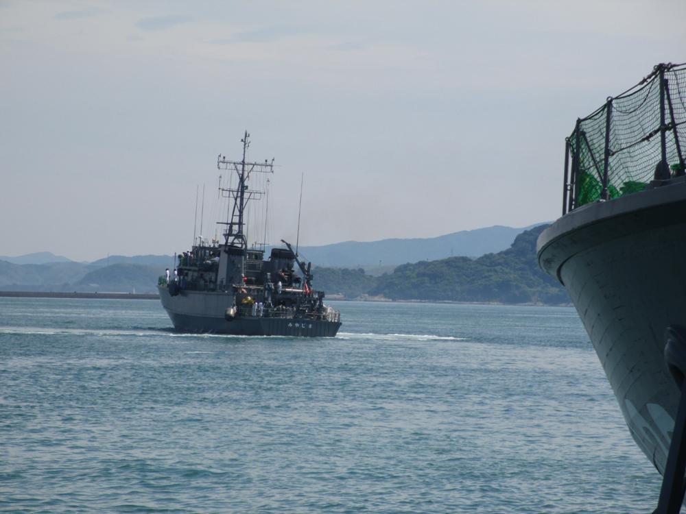 掃海管制艇くめじま 007-09
