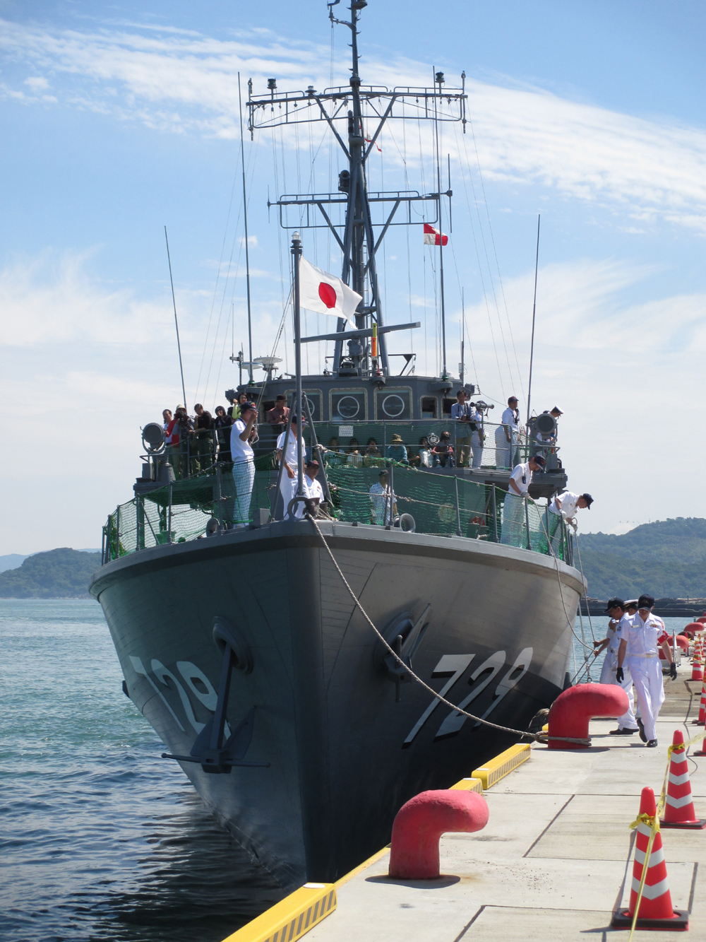 掃海管制艇くめじま 007-10