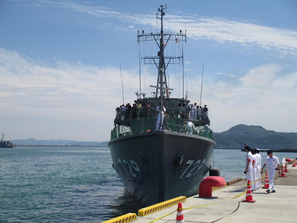 掃海管制艇くめじま 007-11