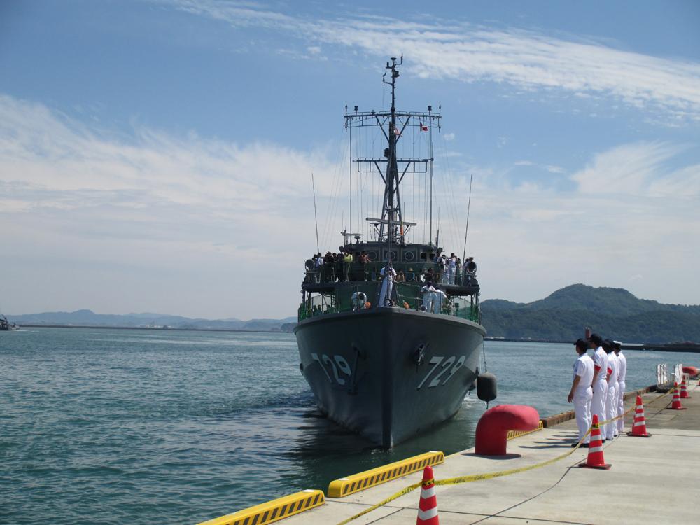 掃海管制艇くめじま 007-12