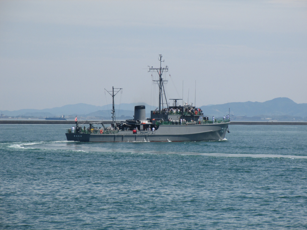 掃海管制艇くめじま 007-14