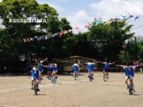 2015運動会一輪車