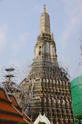 2 寺修復中