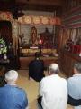 安楽寺へ戻った仏像