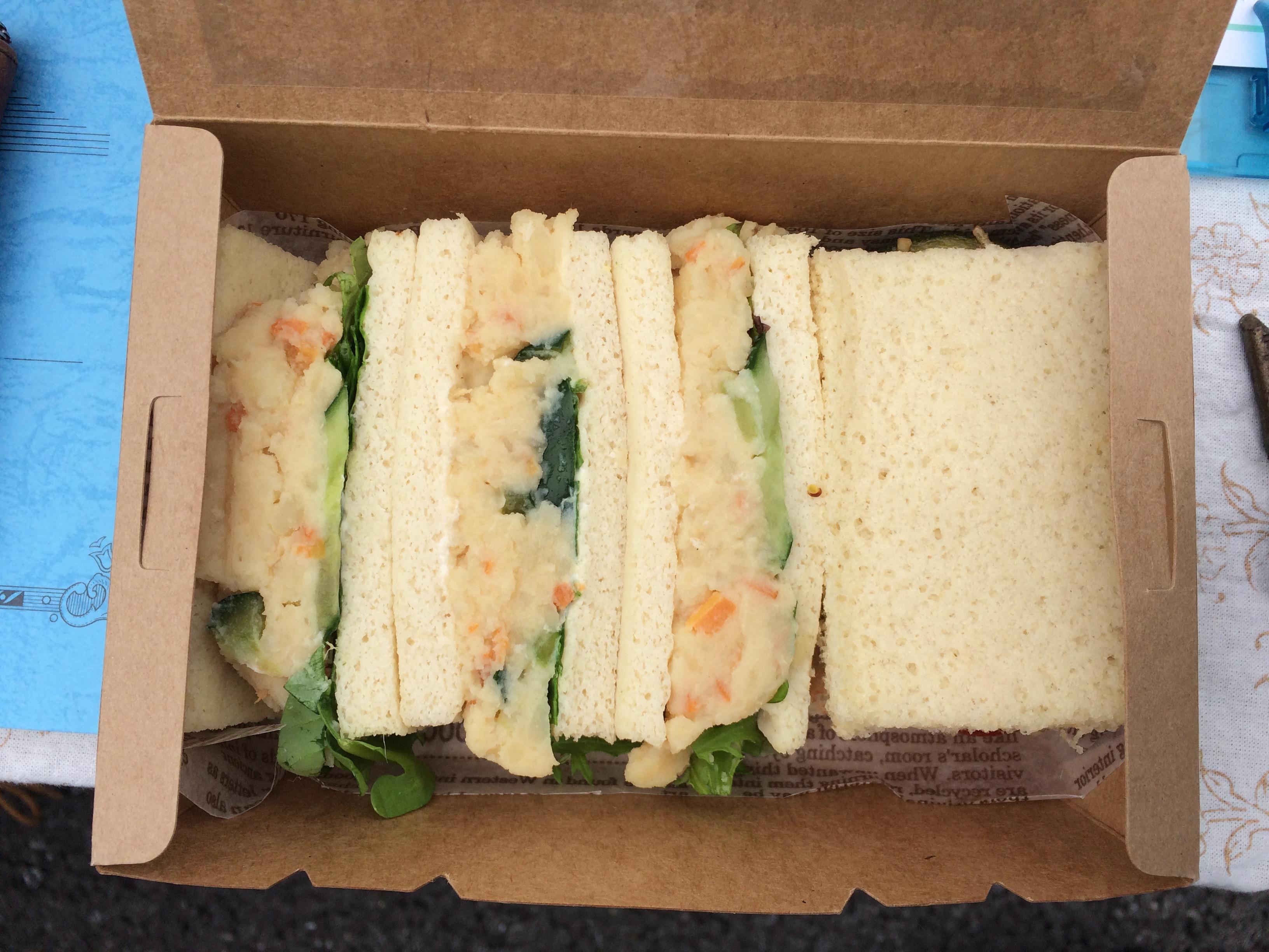 Osakaローベジ祭り2015summer サンドイッチ