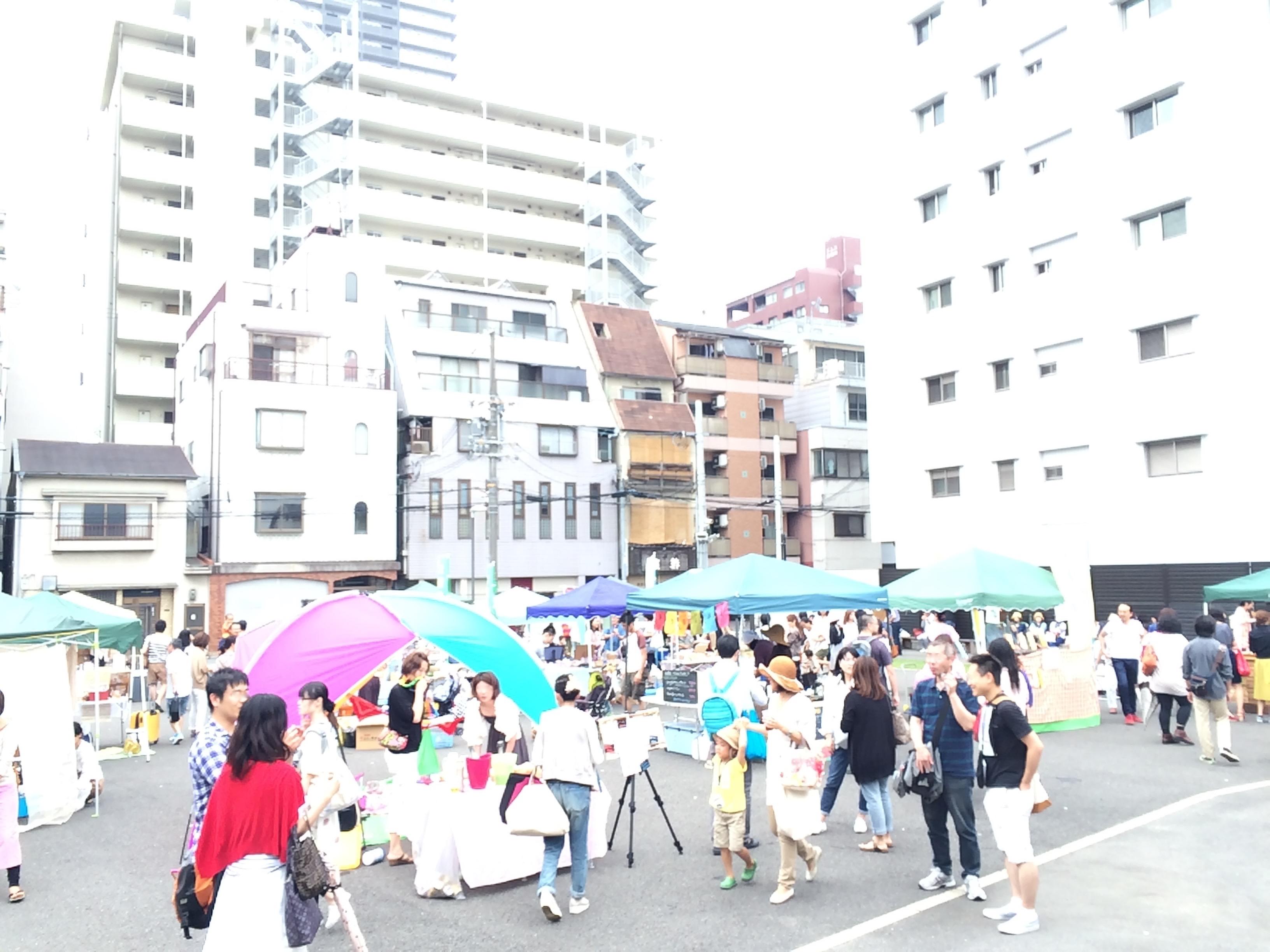 Osakaローベジ祭り2015summer会場