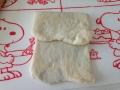 折り込みシート使用 ココアパン・ぶどうカルピスパン 手順3