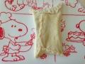 折り込みシート使用 ココアロールパン・いちごミルク渦巻きパン 手順2