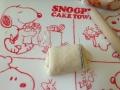 折り込みシート使用 ココアロールパン・いちごミルク渦巻きパン 手順7
