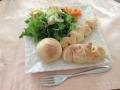 フランスパン3種(ウインナー・ハム・チーズ)ランチ