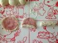 フランスパン(コロネ・ハムマヨ・塩バター)手順3