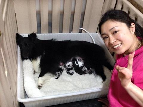 小熊ちゃん出産
