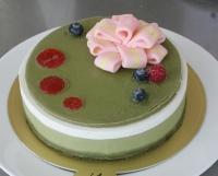 U14抹茶のベリーチーズケーキ