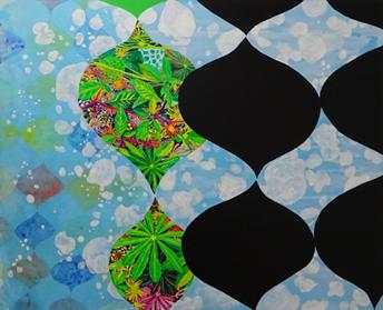 鳥井雅子「ホフマンの窓から庭を眺める」