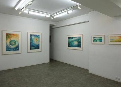 川端千絵展会場風景