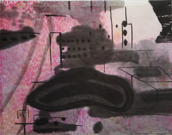 楠本衣里佳「宇宙感覚 空気の隙間Ⅱ」