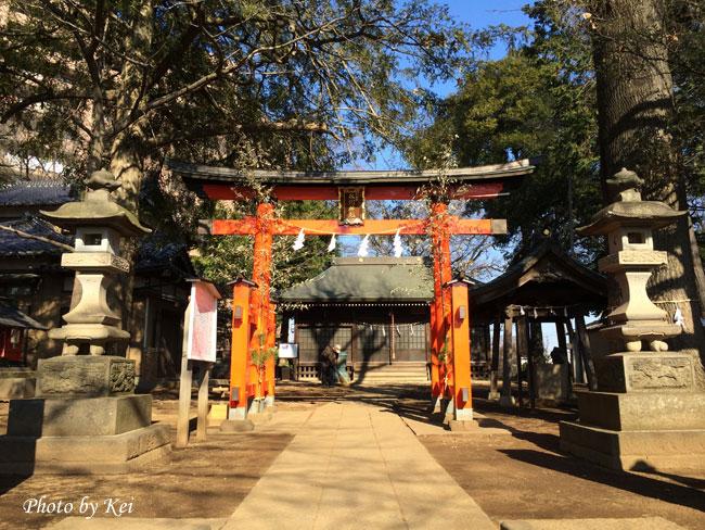 氷川神社♪