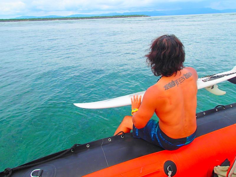 西表島Surfing