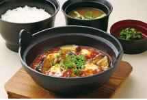 鉄鍋マーボー定食
