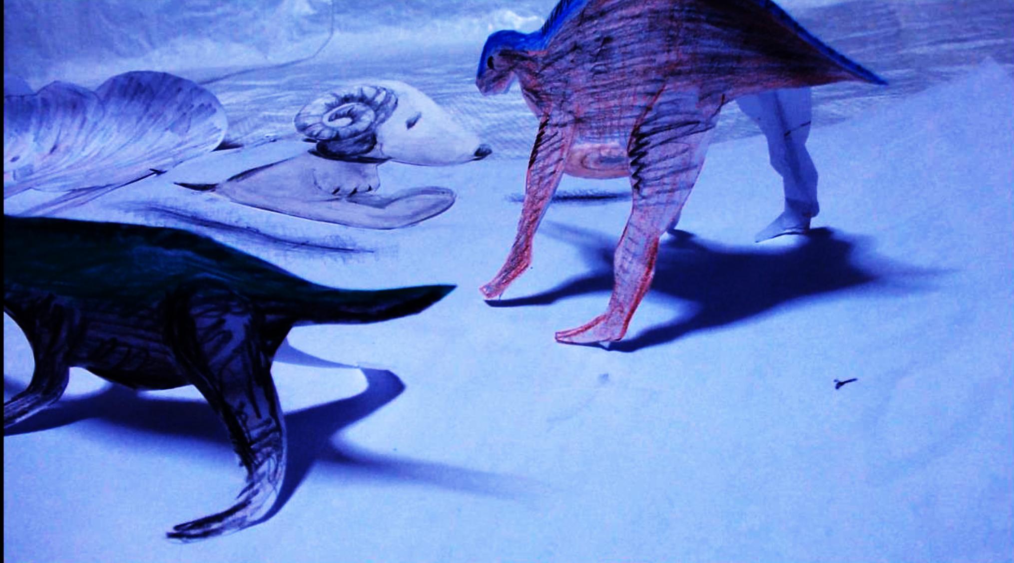 スヌと恐竜