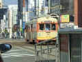 松山市内の路面電車