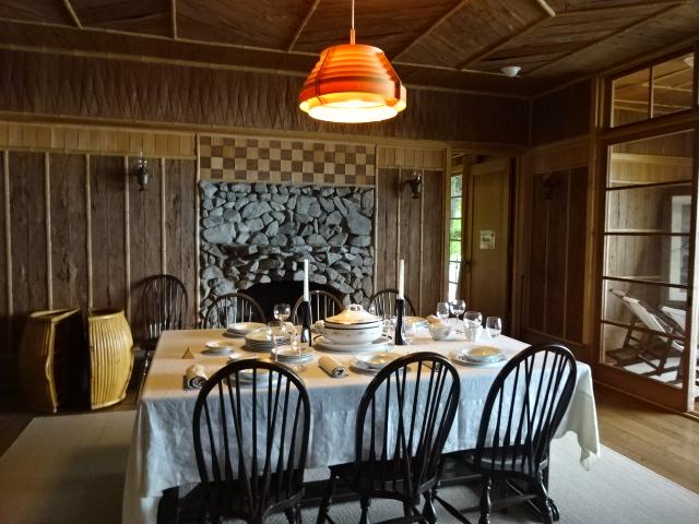 イタリア大使館別荘 食堂
