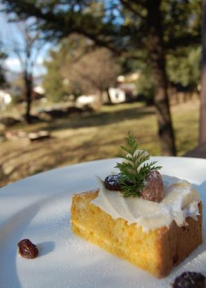 森のキャロットケーキ