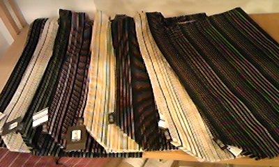 小倉織シンプルバック