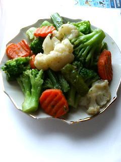 彩温野菜サラダ