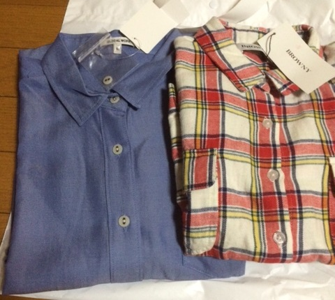 シャツ2枚♪