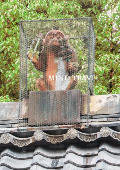赤山禅院 神猿