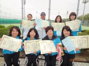 岐阜県ソフトテニス春季優勝大会 開催日:平成27年4月19日(日)