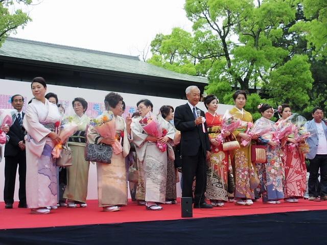 長田神社の花水木まつりに行きました(^^♪