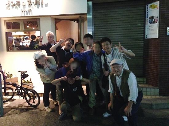 GWの兵庫立呑み会。〆はスペインバルでワインいただきました(^_^)/