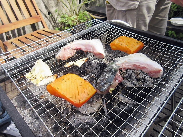 GW最終日に大阪の『谷町空庭』でBBQしたよ(^^♪