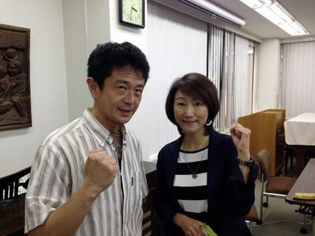5月のとある土曜日。近所で有名人の方々と出会いました(*^_^*)