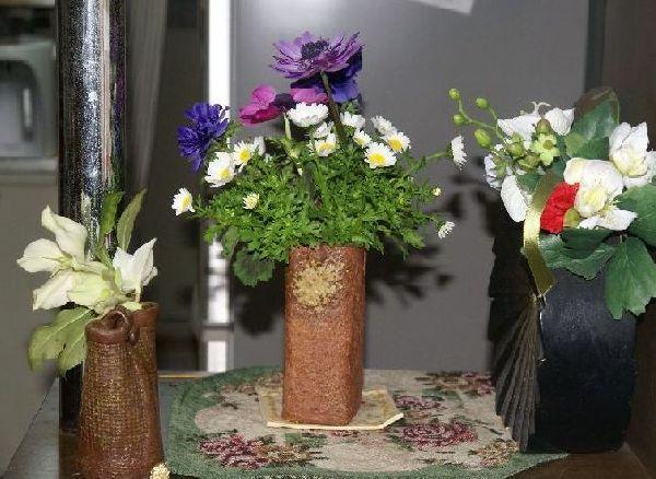 摘んだ花たち