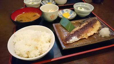 塩サバ定食690円