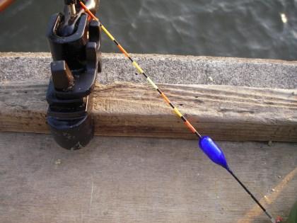 ドボンウキ試し釣り