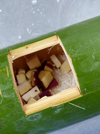 竹でご飯2
