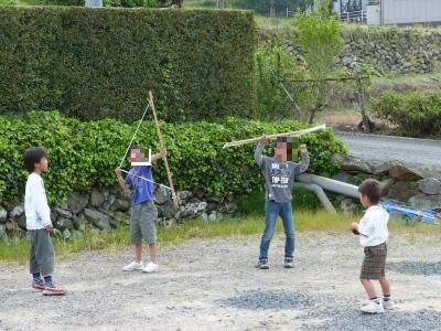 手づくり弓矢